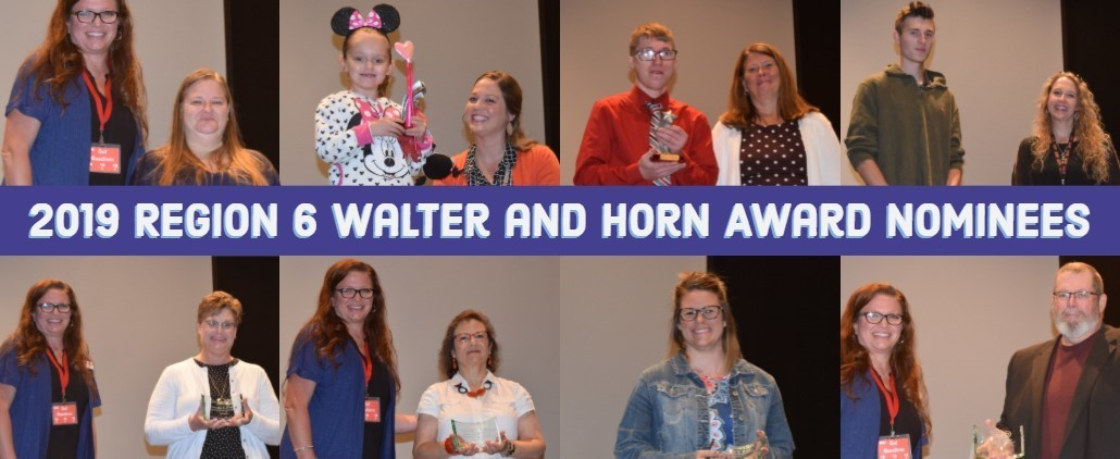 2019 Region 6 Walter and Horn Award Nominees