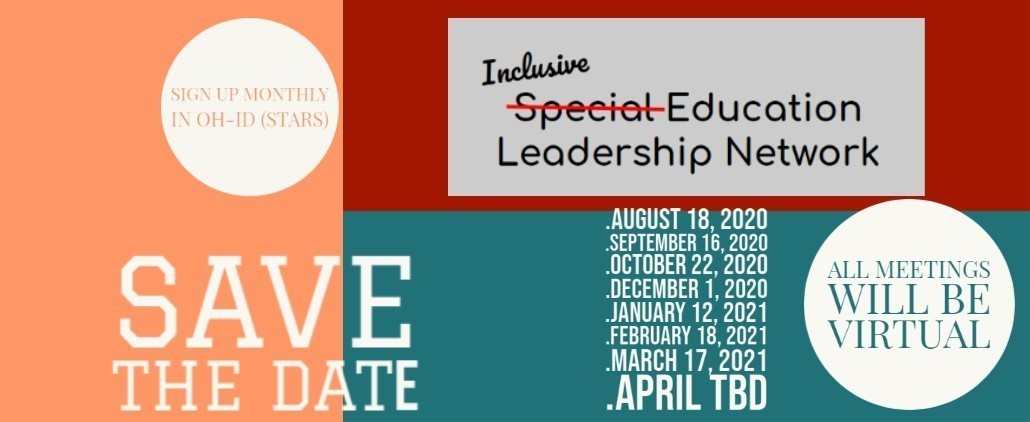 Save the Date for Inclusive Education Network