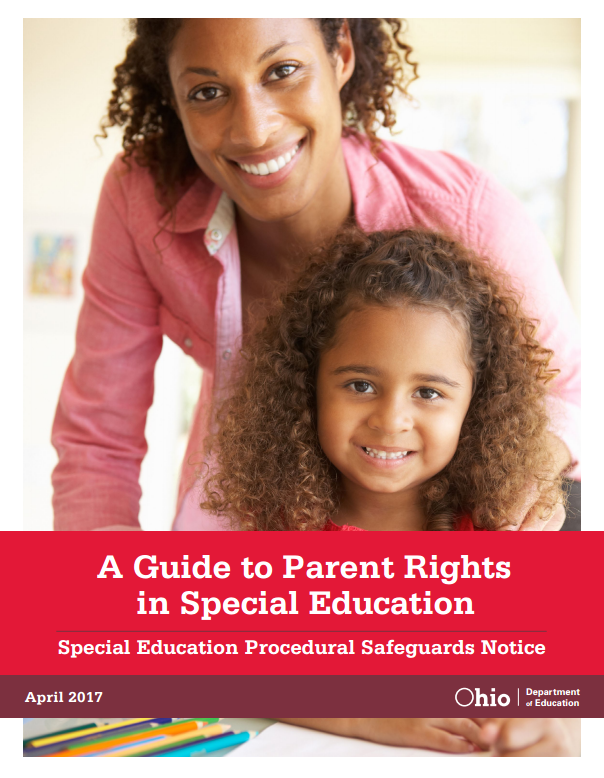Cover of A Guide to Parent Rights in Special Education