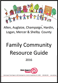 Cover of Family Community Resource Guide for the Entire Region